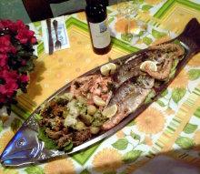 Griechische Fischplatte