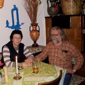 Gäste der Taverne Diogenes